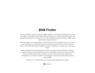bnbfinder.co.za screenshot