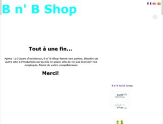 bnbshop.kingeshop.com screenshot