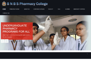 bnbspcollege.org screenshot