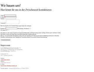 bne-umweltbildungszentrum.de screenshot