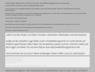 bne-umweltzentrum.de screenshot