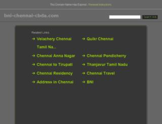 bni-chennai-cbda.com screenshot