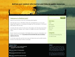 bnkind.com screenshot