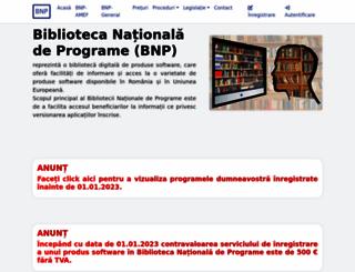 bnp.ici.ro screenshot