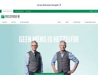 bnpparibas-pf.nl screenshot