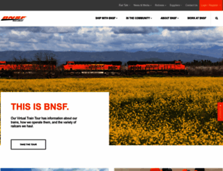 bnsf.com screenshot