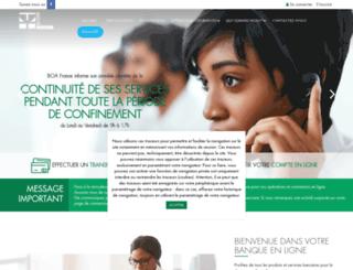 boafrance.com screenshot