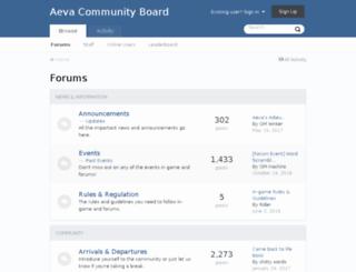 board.aeva-ro.com screenshot