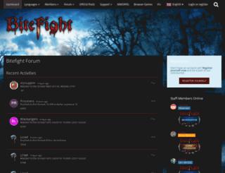 board.bitefight.sk screenshot