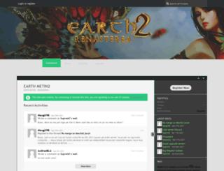 board.earthmt2.com screenshot