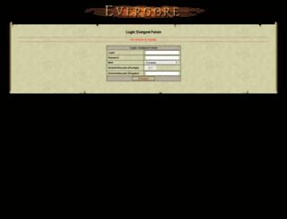 board.evergore.de screenshot