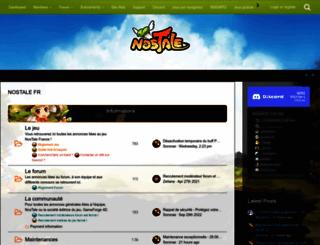 board.fr.nostale.gameforge.com screenshot