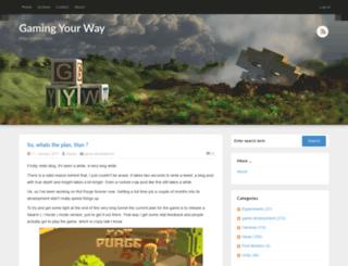 board.gamingyourway.com screenshot