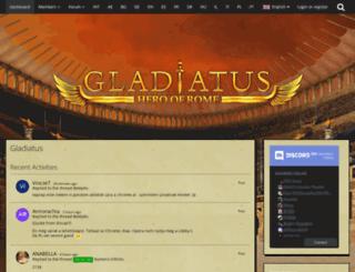 board.gladiatus.it screenshot