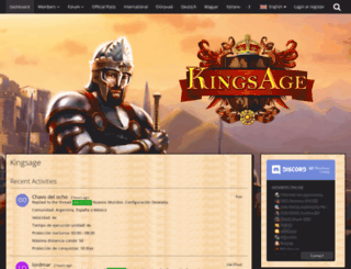 board.kingsage.de screenshot