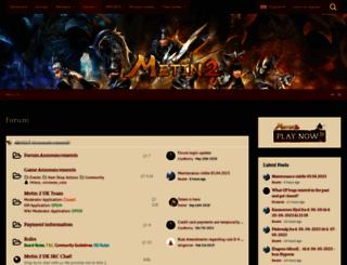 board.metin-2.com screenshot