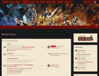 board.metin2.fr screenshot