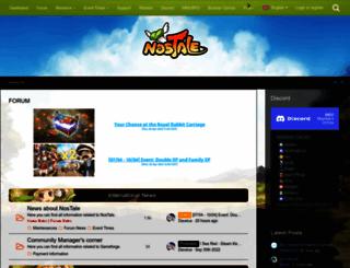 board.nostale.co.uk screenshot