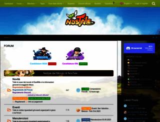 board.nostale.it screenshot