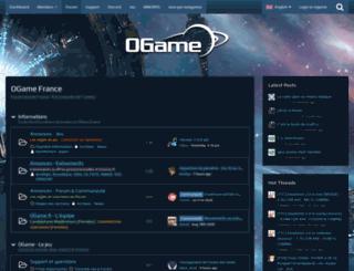 board.ogame.fr screenshot