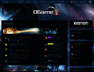 board.ogame.us screenshot