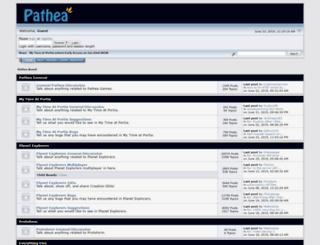 board.pathea.net screenshot