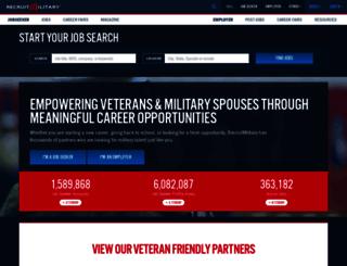 board.recruitmilitary.com screenshot