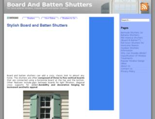 boardandbattenshutters.com screenshot