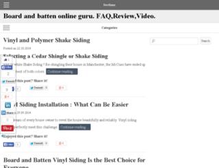 boardbattenonline.com screenshot
