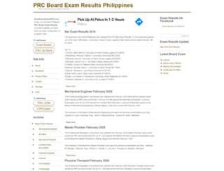 boardexamresultsph.com screenshot