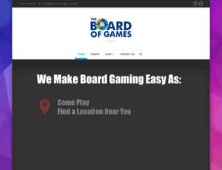 boardofgames.com screenshot