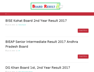 boardresults.us screenshot