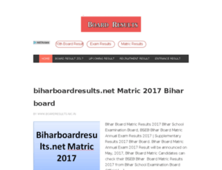 boardresultsnic.in screenshot