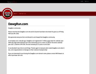 boards.dawgrun.com screenshot