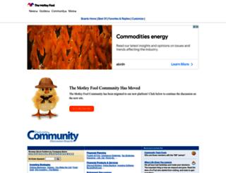 boards.fool.com screenshot