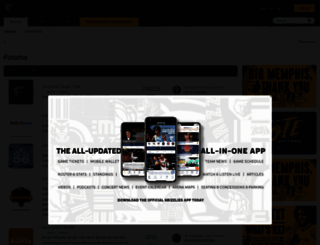 boards.grizzliesonline.com screenshot