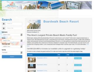 boardwalk.rabeachgetaways.com screenshot