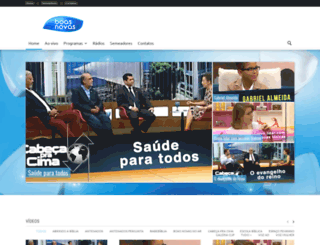 boasnovas.tv screenshot