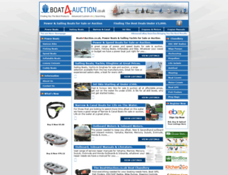 boat4auction.co.uk screenshot