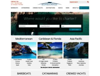 boatbooking.com screenshot