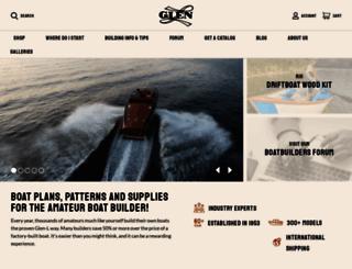 boatbuilders.glen-l.com screenshot