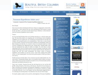 boatinginbeautifulbritishcolumbia.com screenshot