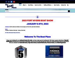 boatplacenaples.com screenshot