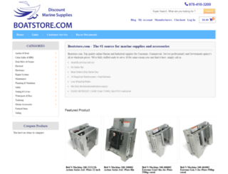 boatstore.com screenshot