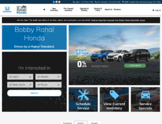 bobbyrahalhonda.com screenshot