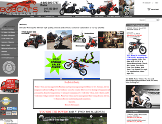 bobcatsmotorsports.com screenshot