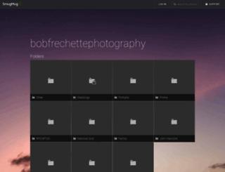 bobfrechettephotography.smugmug.com screenshot