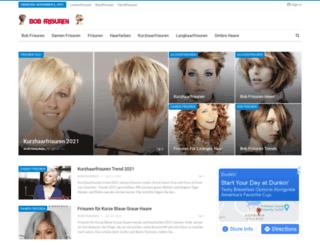 bobfrisuren.net screenshot