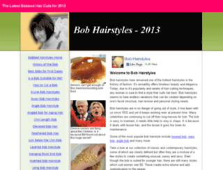 bobhairstyles.co.uk screenshot