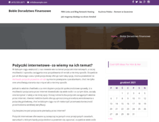 boble.pl screenshot